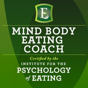 Certification of Mind Body Eating coach for weight loss plans