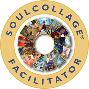 Soulcollage badge